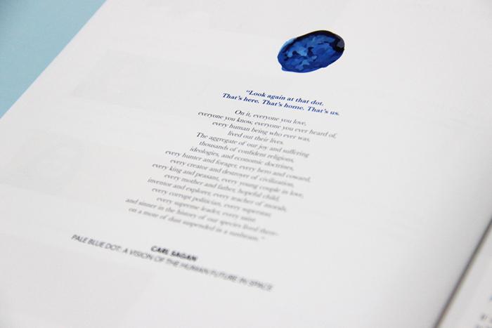 inside blue dot