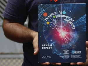 UNESCO – Annual Report & Brochure